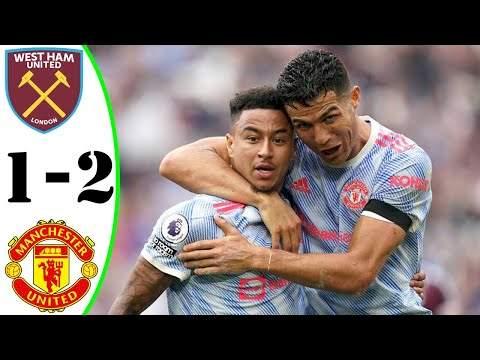 West Ham 1 - 2 Manchester Utd (Sep-19-2021) Premier League Highlights