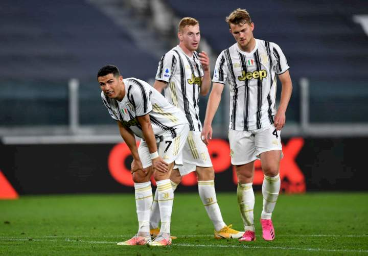 Juventus faces threat of expulsion from Serie A