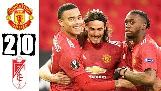 Manchester Utd 2 - 0 Granada CF (Apr-15-2021) Europa League Highlights