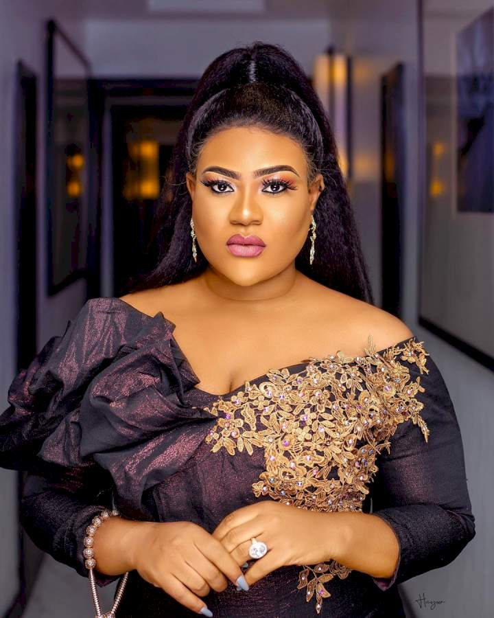 Nkechi Blessing reacts as TAMPAN bans producers, directors from working with her