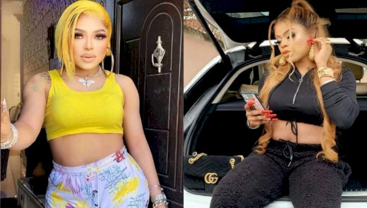 """""""You are jobless and forever be jobless"""" - Bobrisky tackles troll who said he's no longer relevant as BBNaija returns"""