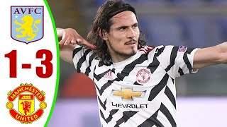 Aston Villa 1 - 3 Manchester Utd (Mar-09-2021) Premier League Highlights
