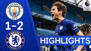 Manchester City 1 - 2 Chelsea (May-08-2021) Premier League Highlights