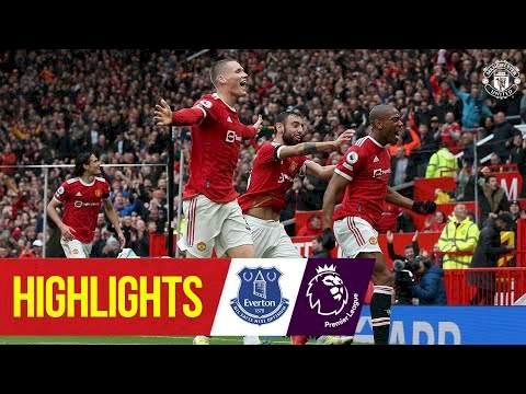 Manchester Utd 1 - 1 Everton (Oct-02-2021) Premier League Highlights