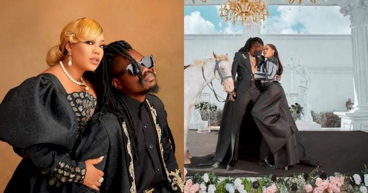 """""""I take care of my children and that of others"""" - Toyin Lawani's husband, Segun Wealth dismisses rumours of abandoning his kids"""