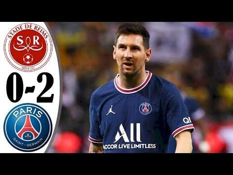 Reims 0 - 2 Paris SG (Aug-29-2021) Ligue 1 League Highlights