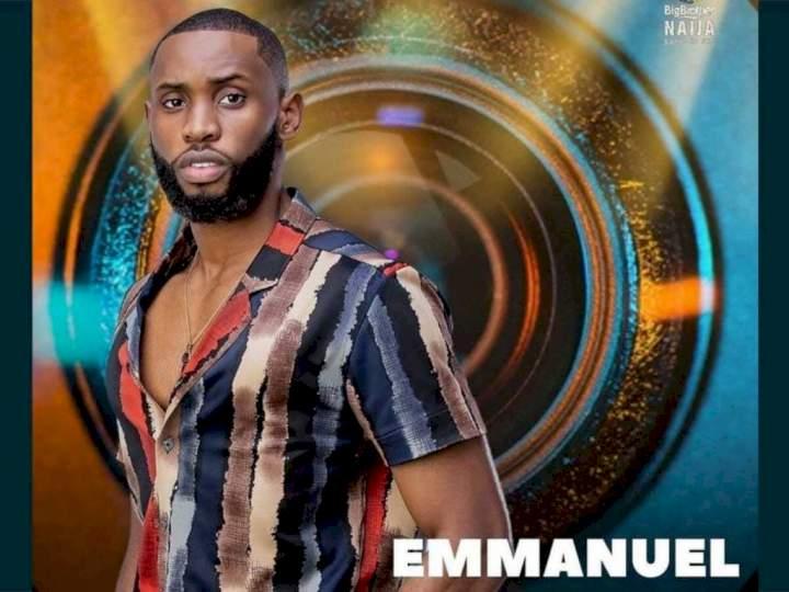 BBNaija: I'll punch you if you dare touch Liquorose - Emmanuel warns Cross