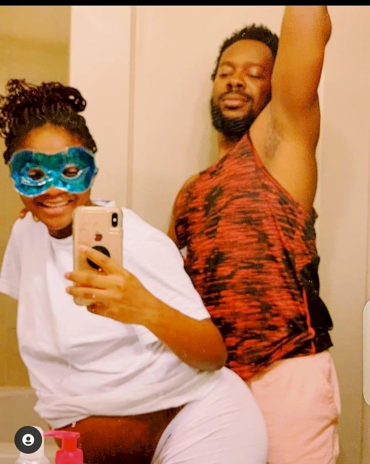 """""""While Simi carry belle oga dey nack you for set"""" – Adekunle Gold accused of cheating on his wife, Simi"""