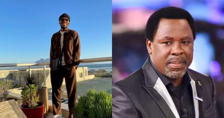 """""""You never judged me even when you knew my flaws"""" - Singer Victor AD pens touching tribute to late pastor, TB Joshua"""