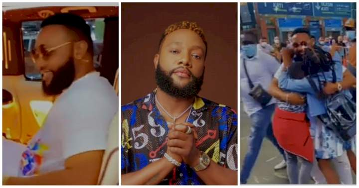 Singer, Kcee shares lovely moment he reunited with his kids in Turkey (Video)