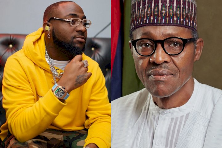 Anybody supporting Buhari govt deserves hell - Davido