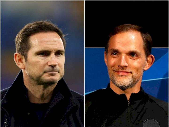 EPL: Lampard reacts to Tuchel's comments about his time at Chelsea