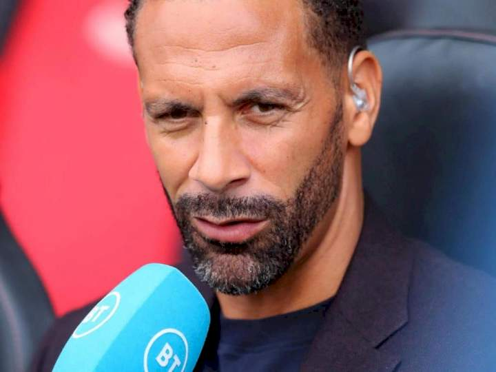 EPL: Rio Ferdinand names one player whose absence gave Man City 1-0 victory over Chelsea