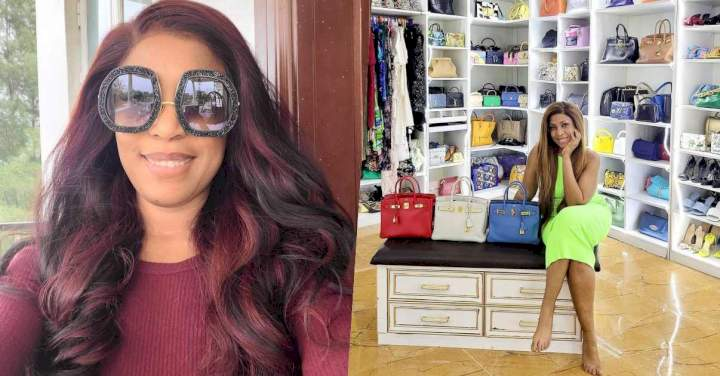 Linda Ikeji acquires three designer bags worth N30M, shows off her collections
