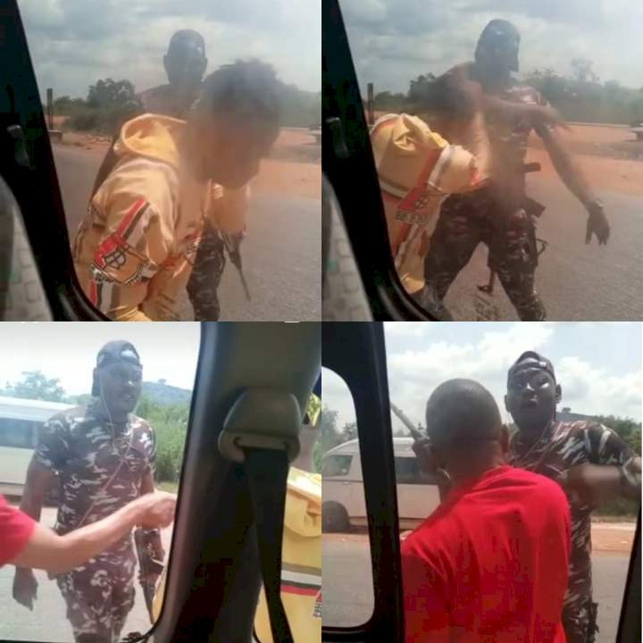 IGP orders investigation into viral video of police officer slapping a passenger along an express road in Kogi state
