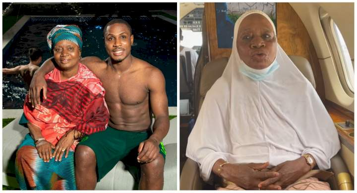 """""""Up NEPA no dey UAE"""" - Watch as Jude Ighalo's mother reveals she'll rather remain in the UAE than return to Nigeria (Video)"""