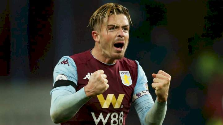 Man City set to break EPL transfer record by signing Grealish