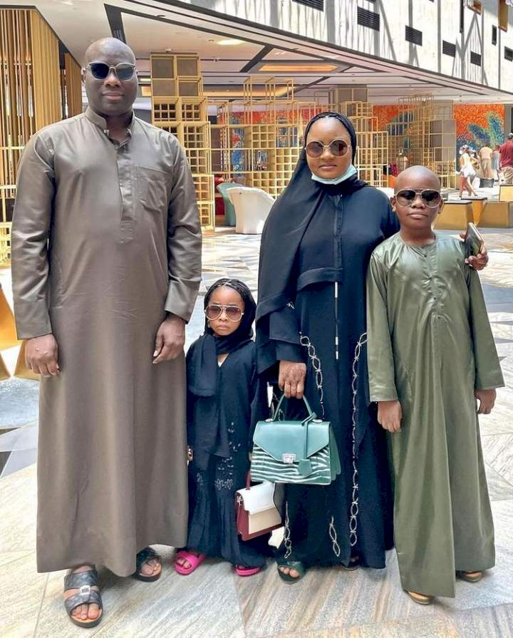 Billionaire, Mompha gifts his kids iPhone 13 worth N1M each a day after release (Video)