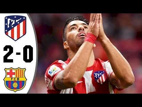 Atl. Madrid 2 - 0 Barcelona (Oct-02-2021) LaLiga Highlights