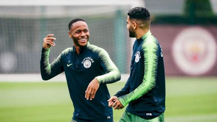 EPL: Arsenal eager to land Sterling, Mahrez as Man City put up duo for sale