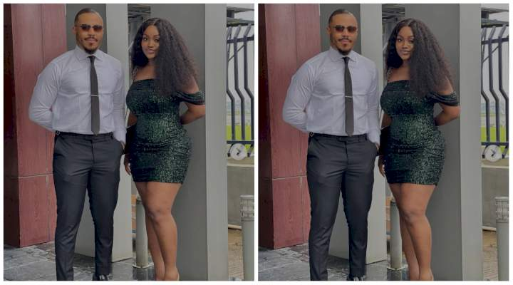 """""""Una dey fear to hold each other"""" - Fans react to this photo of Chioma and Ozo"""