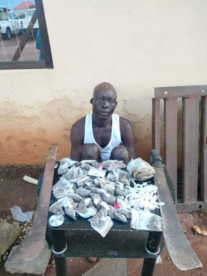 Ekiti police arrest suspected drug baron, recover cocaine, Indian hemp