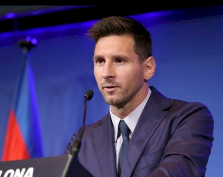 Champions League: Messi makes demand after PSG's 2-0 win against Man City