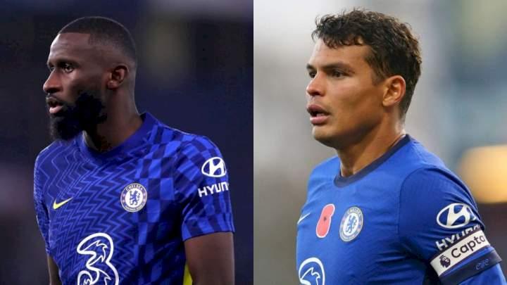 EPL: Chelsea's Rudiger, Silva named among best defenders in the world