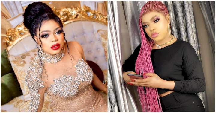 """""""I lied about undergoing butt surgery""""- Bobrisky admits after viral videos shows no enhanced butts (Video)"""