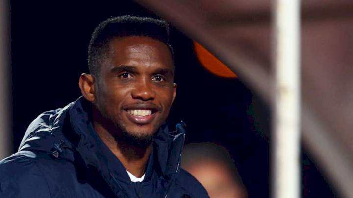 I didn't play with Messi, he played with me - Eto'o