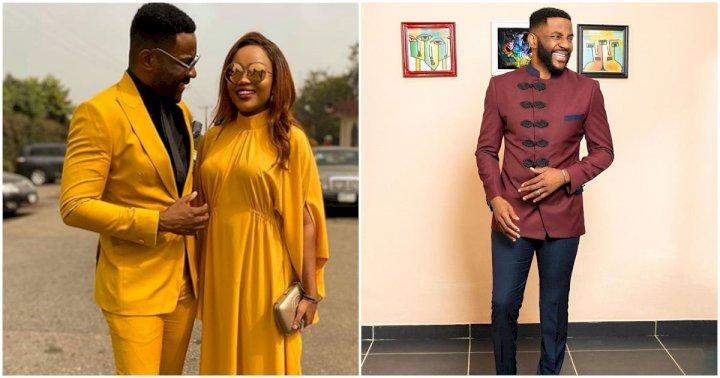 """""""Jealousy jeloma"""" - Ebuka Obi-Uchendu slams wife for saying his fingers are ugly"""
