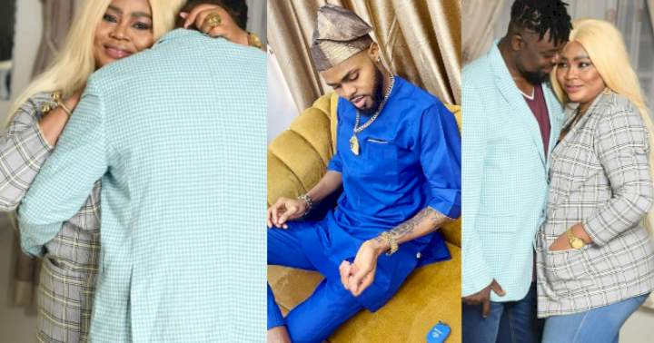 """""""May your union be blessed"""" - Regina Daniels' brother reacts to his mother's alleged marriage"""