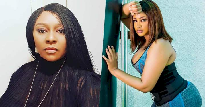 """""""Mind what you say"""" - Victoria Inyama mocks Etinosa following marriage collapse"""