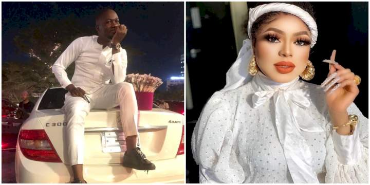 Bobrisky vows to send fan on an all-expense-paid trip to Maldives after gifting him new Benz