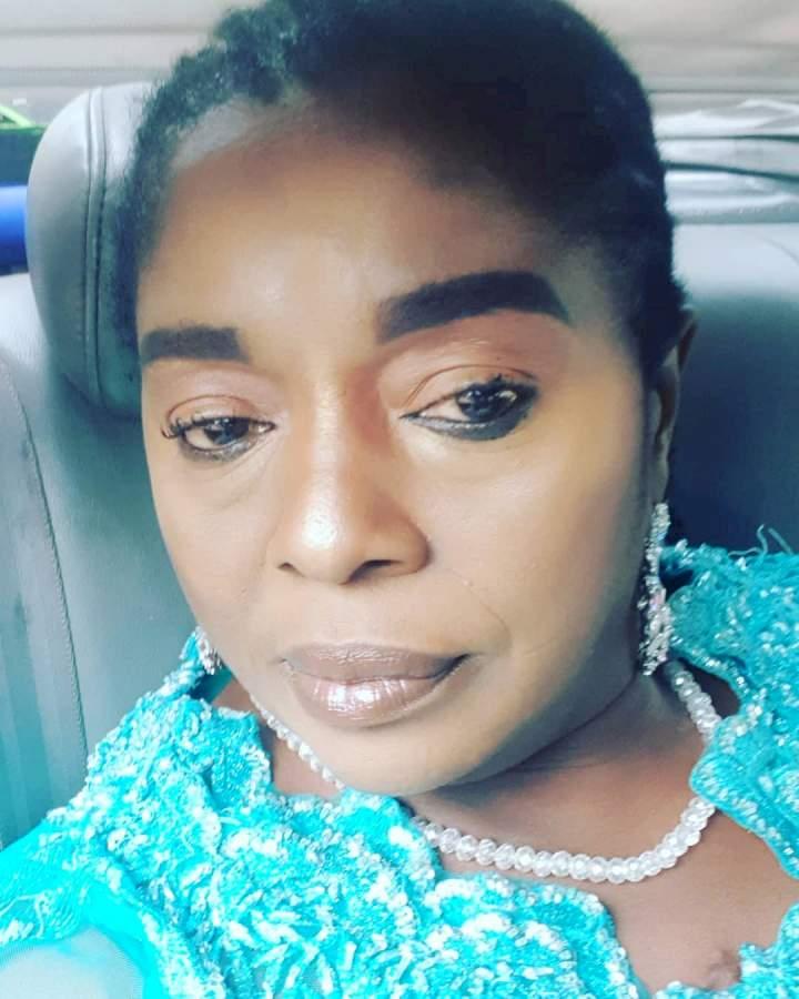 """Say no to fake nyansh to avoid cancer"" - Actress, Rita Edochie cautions ladies (Video)"