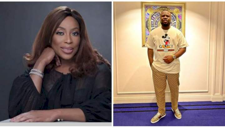 Mixed reactions as Mo Abudu reveals Hushpuppi's fraud saga is set to be turned into a movie
