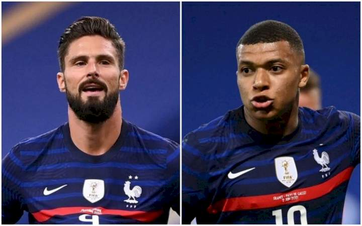 Mbappe opens up on 'fight' with Chelsea striker, Giroud