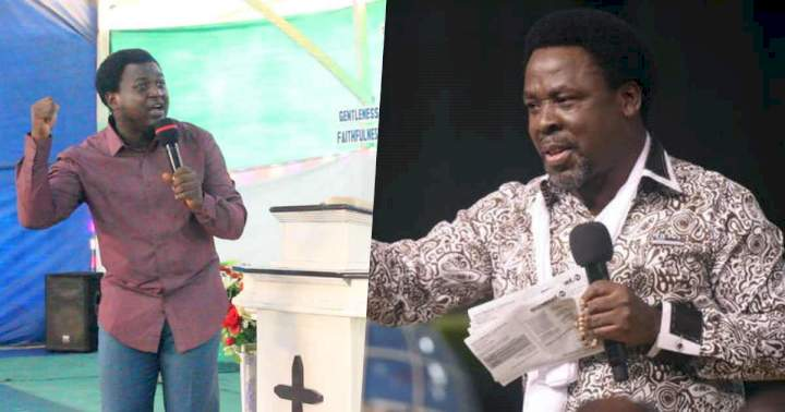 """""""I saw angels as they collect Prophet T.B. Joshua"""" - Prophecy of Apostle Paul M.E. surfaces (Video)"""
