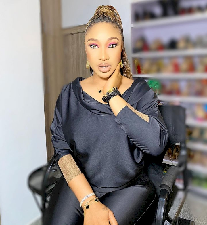 """I can never forgive fans that praised me for my debut song, Hi"" - Tonto Dikeh mocks herself"
