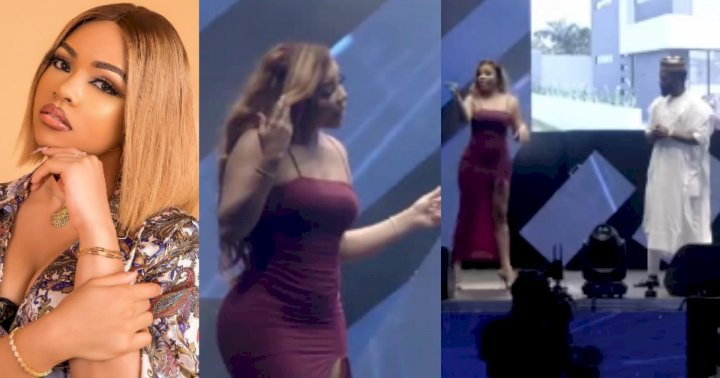 """""""She performed as if she was quarrelling with somebody"""" - Nigerians drag Nengi over video with Comedian Ay"""