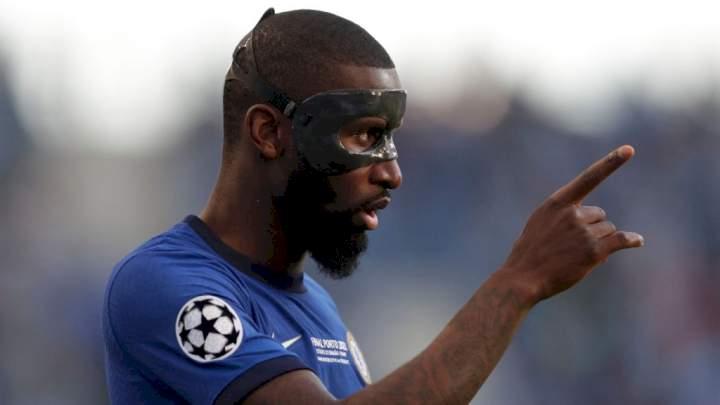EPL: Rudiger refuses to sign new Chelsea contract amid interest from PSG, Real Madrid