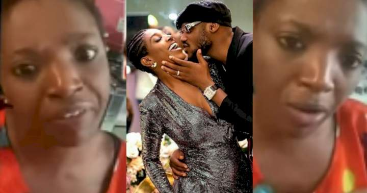Annie Idibia reacts as hubby, 2face shares photo of them together