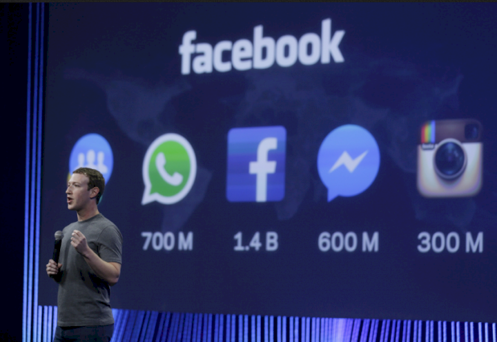 Facebook accused of shutting down its platform to draw away attention from whistleblower's claim
