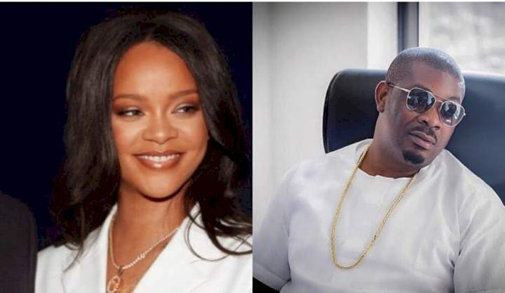 """""""Rihanna no know wetin she dey miss"""" - Nigerians react as Don Jazzy calls himself the 'hottest bachelor' (Photo)"""