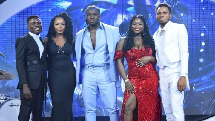 Nigerian Idol: Nigerians lament as Faith exits, Comfort, others emerge top 4