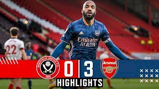 Sheffield Utd 0 - 3 Arsenal (Apr-11-2021) Premier League Highlights