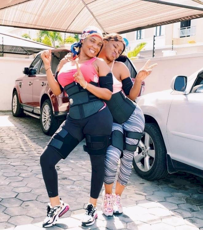 Months after flaunting her first Benz, Iyabo Ojo's 20-year-old daughter, Priscilla set to wed (Photos)