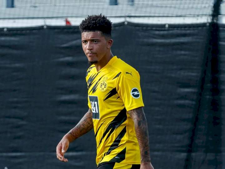 Haaland reacts to Sancho leaving Dortmund for Man United