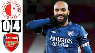 Slavia Prague 0 - 4 Arsenal (Apr-15-2021) Europa League Highlights