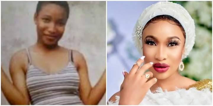 Reactions as Tonto Dikeh stuns fans with an epic throwback picture (Video)